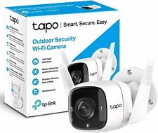 TP-Link Tapo Outdoor Security Camera/CCTV, Weatherproof, No Hub Required, Works