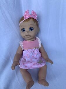 Spin Master #22700 Luva Bella Interactive Talking Baby Girl Doll Blonde Dressed