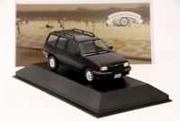 1:43 IXO Chevrolet Ipanema 1991 Diecast Models Cars Collection Black
