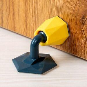 Silicone Door Stop Stopper Home Adhesive Wall Bumper Practical Floor ProtectFEH