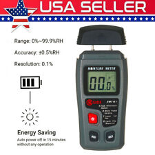 Digital Wood Moisture Meter Analyzer Humidity Tester Timber Damp Detector Y2X8