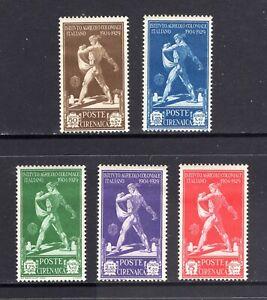 JHL 1930 CYRENAICA B29-B33 FULL SET OF 5 UNUSED F/VF HR (CAT $32)