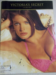 Victoria's Secret Fall Preview 1992 Stephanie Seymour cover + order form intact