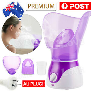 For Face Nymph Spa Home Facial Steamer Sauna Pores Office Deep Cleanse SPA AU