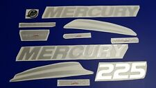 mercury verado *200 225 250 275 300 + FREE FAST delivery DHLexpres- Raised Decal
