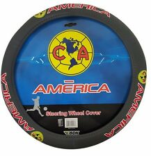Club America Grey Vinyl Steering Wheel Cover New With Tags