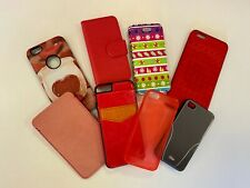 Apple iPhone 4/4s/5/5s/SE/6/6S/6+/6S+  - Phone Cases  - Various Colours & Styles