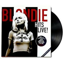 Blondie Hits Live! LP Boston 1978 UK issue Remastered NEW Sealed