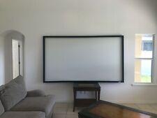 "Da-Lite Da-Snap 54x96 (110"" D) 16:9 Fixed-Frame Projection Screen Movie Theater"