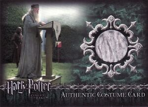 Harry Potter Goblet of Fire Dubbledore TF1 Costume Card New York Toy Fair Exc