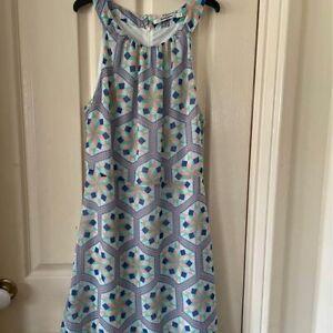 Body & Soul Geometric Print Dress Size 10 - NWOT