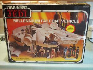 STAR WARS RETURN OF THE JEDI VINTAGE RARE MILLENNIUM FALCON  BOX 1983 PALITOY