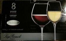 Luigi Bormioli Italy 4 Bourgogne 22 1/4 oz 4 Chardonnay 13 oz NEW IN THE BOX