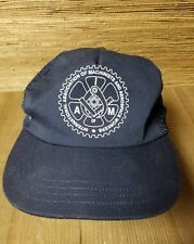 International Association of Machinists and Aerospace Workers Snapback Blue Hat