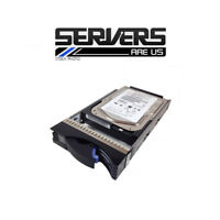 """IBM 73.4GB 3.5"""" Hard Drive 06P5756 10K U160 SCSI H/S xSeries zj"""