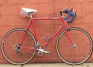 60cm Nashbar RACE SIS Bicycle Shimano 600 Tange 2 Japan Arnie  PINK ROAD BIKE