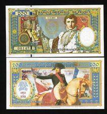 French Empire, 200 Francs, 2021 Private Issue - Napoleon Bi-Centennial of death