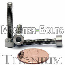 4mm x 0.70 x 25mm - TITANIUM SOCKET HEAD CAP Screw - DIN 912 Grade 5 Ti M4 Hex