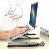 Adjustable Portable Notebook Tablet Holder Laptop Stand Foldable Computer Desk