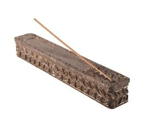 Handmade stone Coffin Burner Box Burner Incense Holder Ash Catcher Made in India