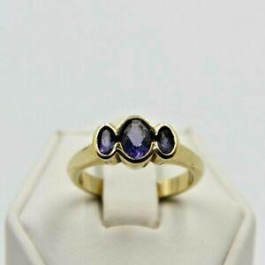 9ct Gold Tanzanite Ring