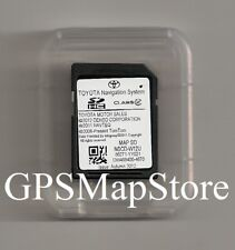 2012 2013 2014 Toyota Sienna NSCD-W12U Navigation SD Card Data Map U.S - Canada