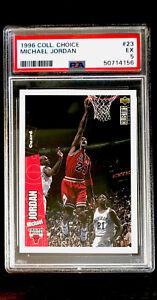 1996-97 Collector's Choice Michael Jordan #23 PSA 5 EXCELLENT Chicago Bulls