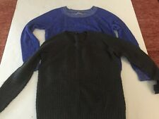 Gap Sweaters ~ a Blue (Size L) & a Green (Size M)