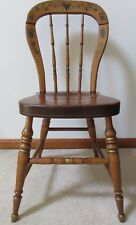 DRAKE SMITH & CO. Pennsylvannia Dutch Decorated Chair