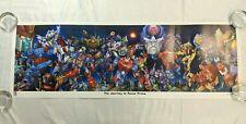 Transformers 2015 BotCon Journey to Nexus Prime Lithograph Print Poster SADV06