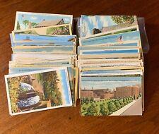 Large Lot 250+ Vintage Linen US Postcards Collection - Mostly UNUSED Dealer Lot