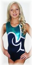"New with Tags Mystique Shine On Hologram Strength Ace â""¢ gymnastics leotard Cs"