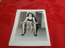 4 X 5 ORIGINAL PIN UP PHOTO FROM IRVING KLAW ARCHIVES OF CINDY  #19