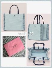 Kate Spade Sam Denim Medium Satchel Light Denim Handbag PXRUA255