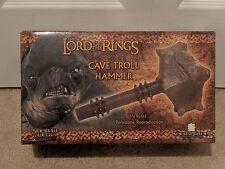 Sideshow Weta CAVE TROLL HAMMER Lord of the Rings LotR Hobbit Orig Shipper Rare