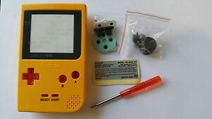 ES-BEST3DCASESSHOP CASE FULL YELLOW GAMEBOY POCKET NEW