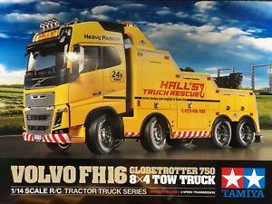 Tamiya 1:14 RC Truck Volvo FH16 Abschlepper 8x4 56362
