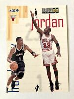 1997 COLLECTOR'S CHOICE MICHAEL JORDAN - PENNY HARDAWAY JUMBO CARD #4 OF 4