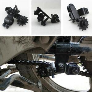 1PC MTB Motorcycle Dirt Bike Gearwheel Chain Tensioner Anti-skid Black Steel New