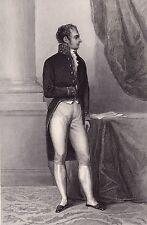 Portrait XIXe Joseph-Henri-Joachim Lainé Restauration Ministre de l'Intérieur