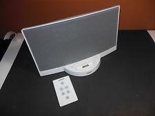 Bose SoundDock Sound Dock Soundock FULLY TESTED White W/ Remote & Power Supply