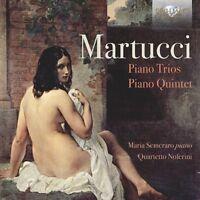 PIANO TRIOS PIANO QUINTET (SEMERARO, QUARTETTO NOFERINI,...) 2 CD NEU