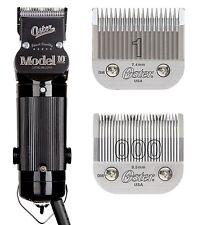 Oster Modelo 10 Cortadora De Cabello Salon Barber Belleza Classic # 1 & 000 Cuchillas Incluidas