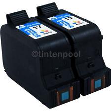 2 Druckerpatronen für HP C6625AE DeskJet 840 C