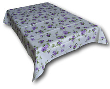 Tablecloth Table Rectangular From 18 And 24 Places 100% Cotton Made IN Italy