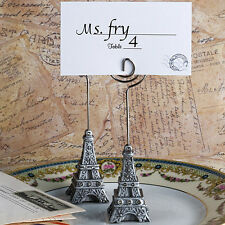 36 Eiffel Tower Poly Resin Place Card Holders Bridal Shower Wedding Favors