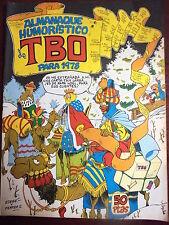 TBO,Almanaque Humoristico 1978