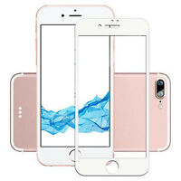 Apple iPhone 8 Screen Protector White Tempered Glass 3D Curved for iPhone 8/7/7s