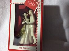 75% Off Lenox 2018 Bride And Groom Christmas Ornament New In Box