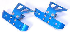 Aluminum Front+Rear Blue Bumper Fits Team Losi Mini LST